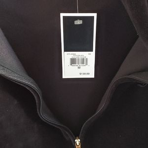 Juicy Couture. Pitch Black. Cape Hoodie M
